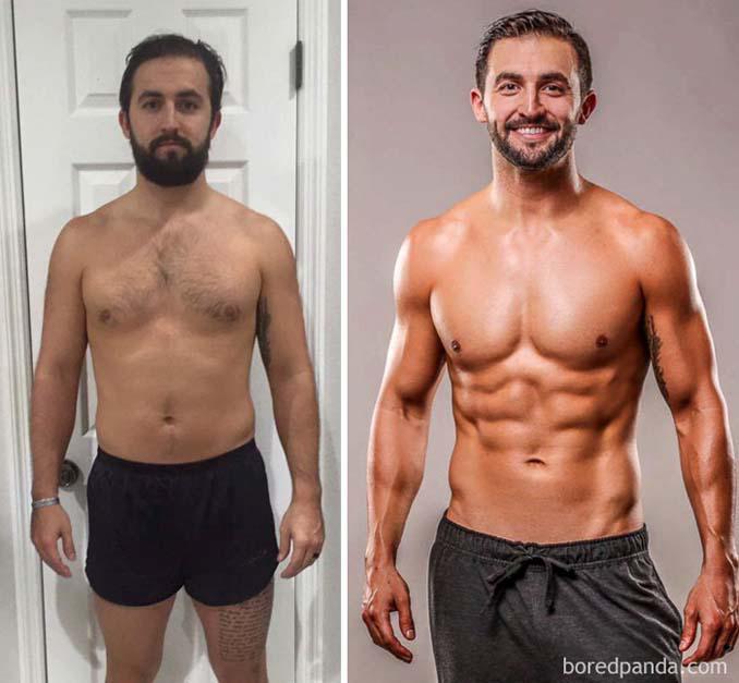 Πριν και Μετά τη γυμναστική: Εντυπωσιακές μεταμορφώσεις (13)