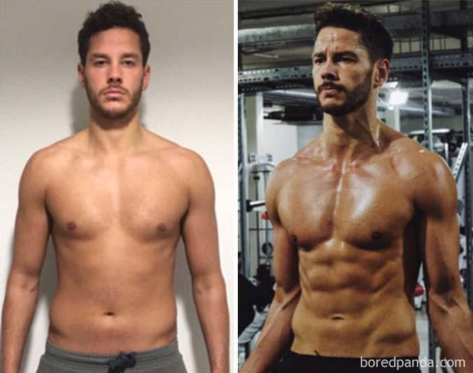 Πριν και Μετά τη γυμναστική: Εντυπωσιακές μεταμορφώσεις (21)
