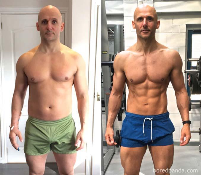Πριν και Μετά τη γυμναστική: Εντυπωσιακές μεταμορφώσεις (22)