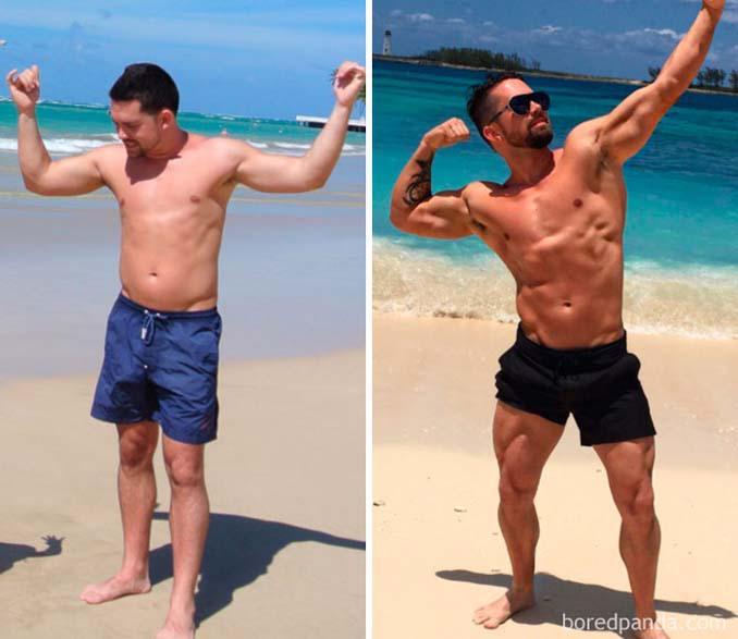 Πριν και Μετά τη γυμναστική: Εντυπωσιακές μεταμορφώσεις (23)