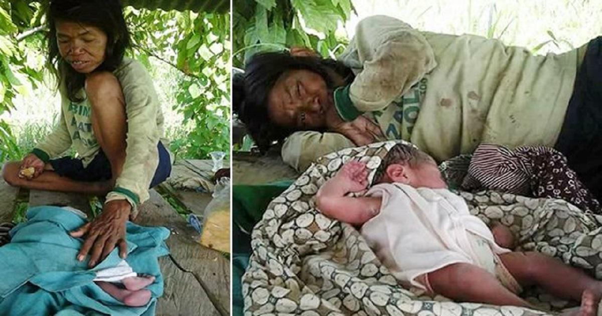 Διανοητικά ανάπηρη γυναίκα φροντίζει το νεογέννητο μωρό της και βρίσκει ξανά το νόημα της ζωής