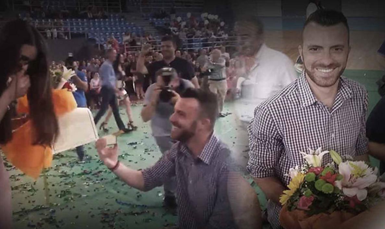 ΤΕΙ Κρήτης: Της έκανε πρόταση γάμου την ώρα της ορκωμοσίας της