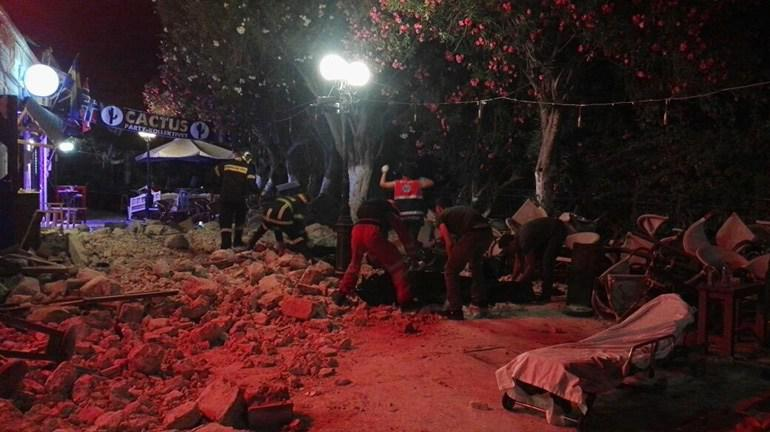 Φονικός σεισμός 6,4 ρίχτερ στα Δωδεκάνησα. Δύο νεκροί στην Κω