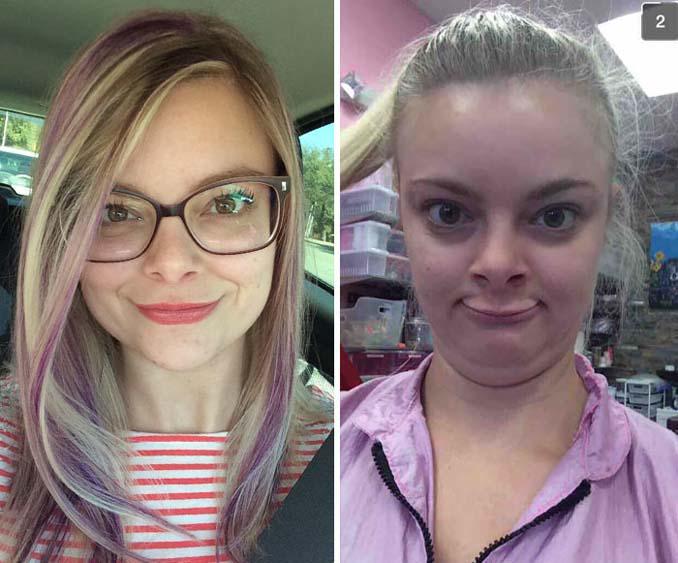 Φωτογραφίες που δεν θα πιστεύετε πως δείχνουν τις ίδιες γυναίκες (21)