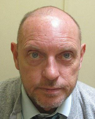 HIV-positive David Cox, 52, pictured, has been jailed for more than two years after being caught trying to meet a '12-year-old' boy for sex in a park in Wolverhampton