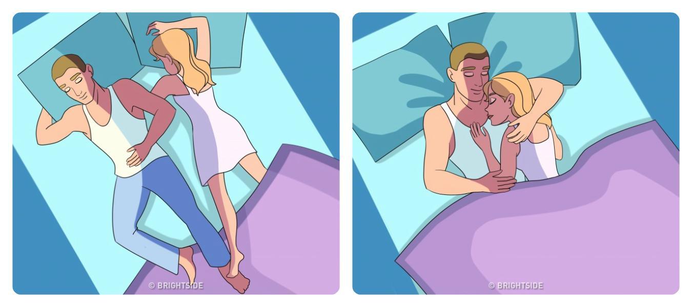 Τι αποκαλύπτει η στάση που κοιμάστε για την σχέση σας;