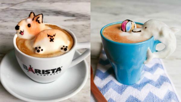 17χρονη ανέβασε την τέχνη του καφέ σε άλλο επίπεδο και οι δημιουργίες της είναι πραγματικά έργα τέχνης