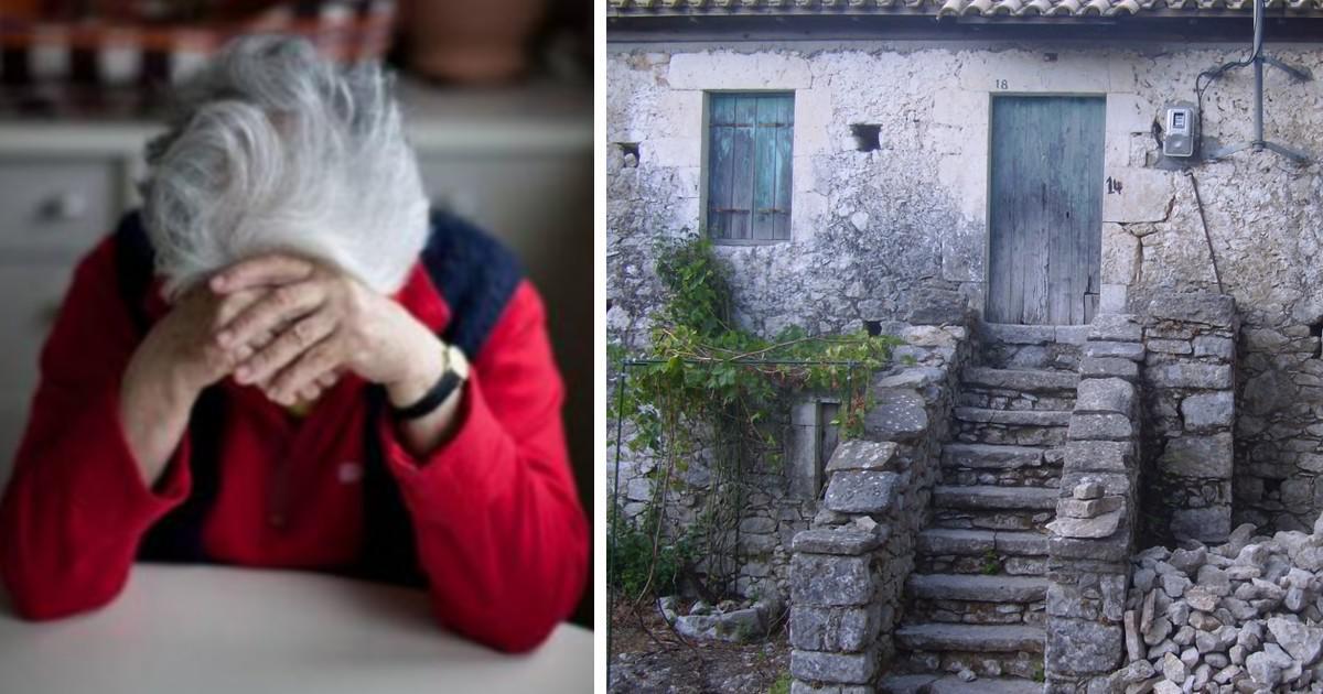 Πήραν την πρώτη κατοικία 78χρονης που ζει με αγροτική σύνταξη 320 ευρώ