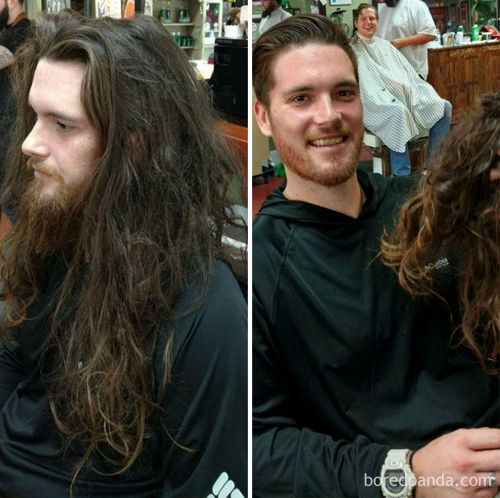 Do You Still Think A Haircut Doesn't Make A Difference !?