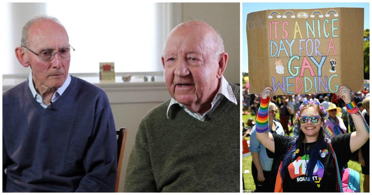 Ηλικιωμένοι γκέι 89 και 85 ετών αποφασίζουν να παντρευτούν μετά από 50 χρόνια σχέσης