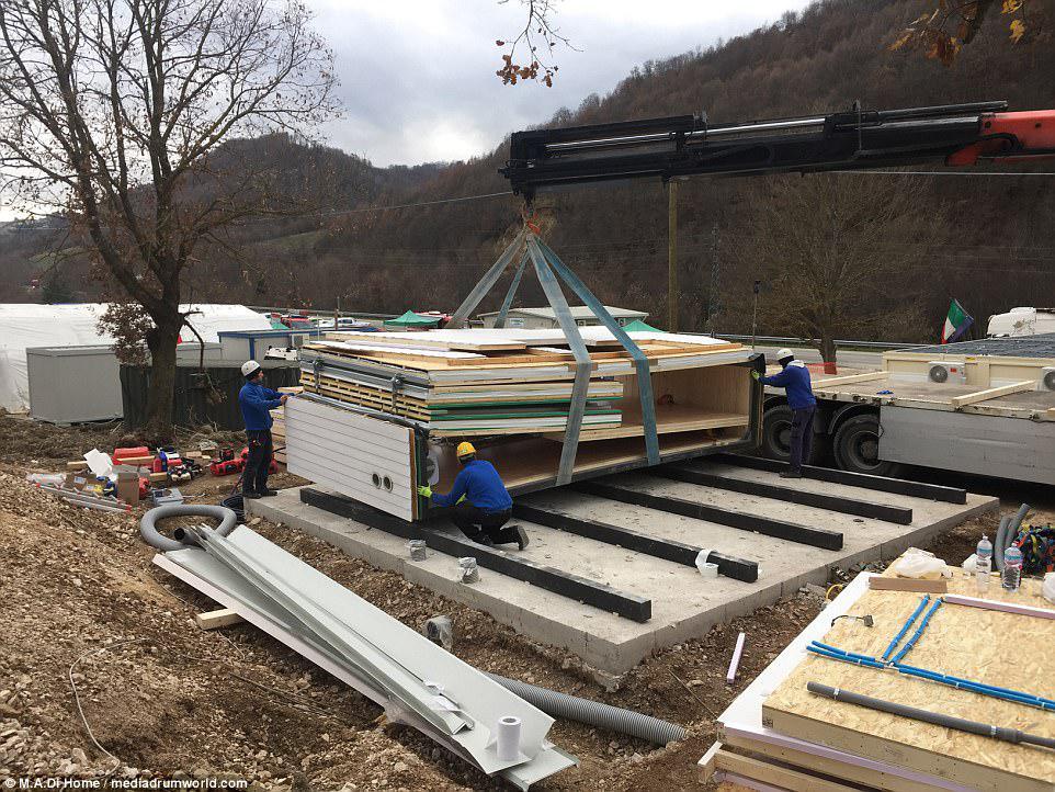 Το σπίτι MADi δημιουργήθηκε από τον Ιταλό αρχιτέκτονα Renato Vidal. Είναι ανθεκτικό στο σεισμό και έχει την φιλική προς το περιβάλλον ικανότητα να γίνει εντελώς εκτός δικτύου με ηλιακούς συλλέκτες, συστήματα φωτισμού με LED και συστήματα βρόχινου νερού
