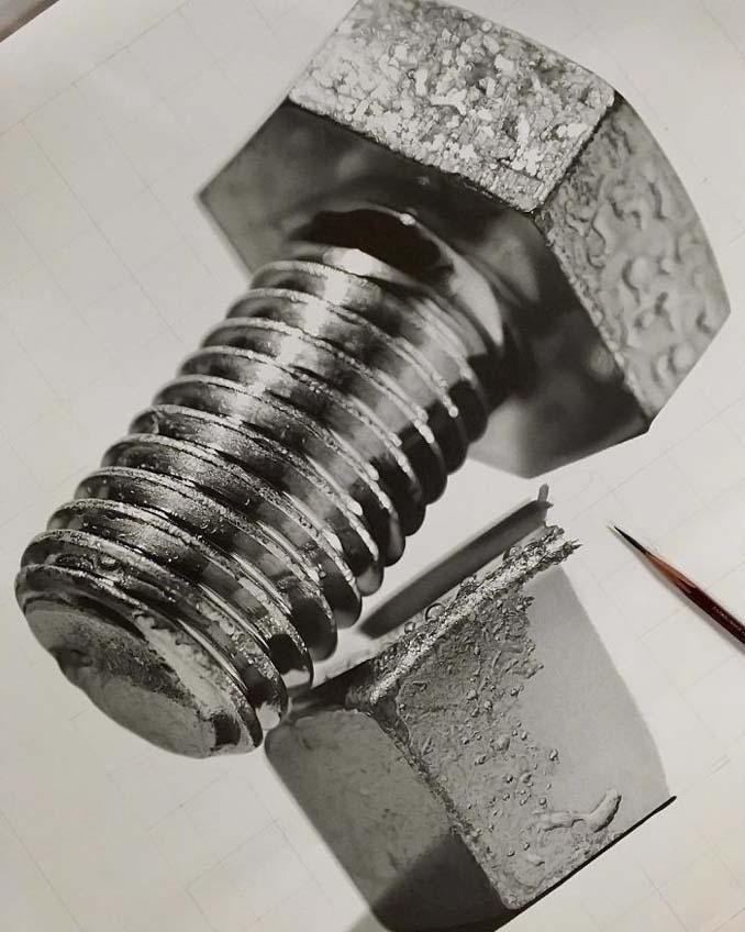 Αυτά τα έργα με μολύβι είναι τόσο ρεαλιστικά που οι άνθρωποι νομίζουν πως πρόκειται για φωτογραφίες (2)