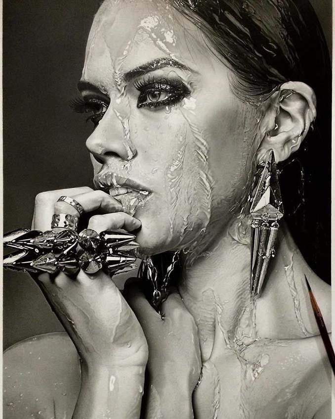 Αυτά τα έργα με μολύβι είναι τόσο ρεαλιστικά που οι άνθρωποι νομίζουν πως πρόκειται για φωτογραφίες (3)