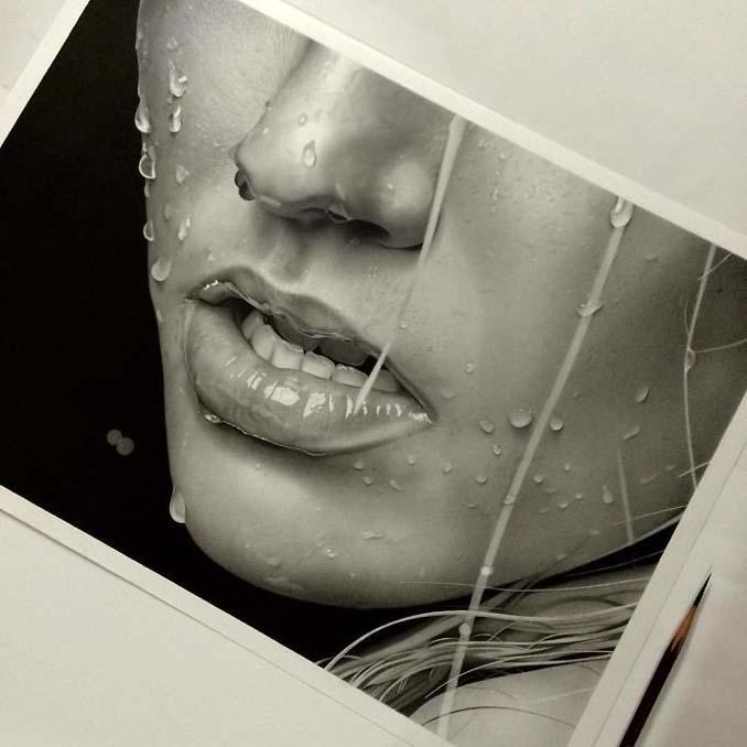 Αυτά τα έργα με μολύβι είναι τόσο ρεαλιστικά που οι άνθρωποι νομίζουν πως πρόκειται για φωτογραφίες (7)