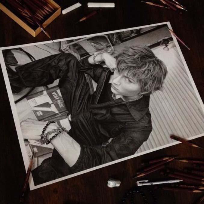 Αυτά τα έργα με μολύβι είναι τόσο ρεαλιστικά που οι άνθρωποι νομίζουν πως πρόκειται για φωτογραφίες (10)