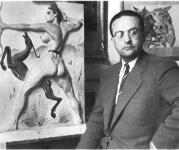 Ο ζωγράφος Αλέξανδρος Αλεξανδράκης