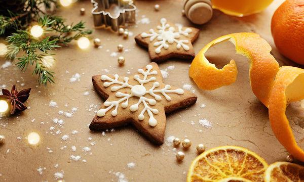 Φτιάξτε χριστουγεννιάτικα μπισκότα με πορτοκάλι και κανέλα χωρίς αβγά και γάλα
