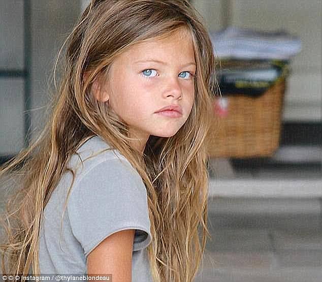 21b0b727cdc Τα σκήπτρα του «πιο όμορφου κοριτσιού στον κόσμο» κατείχε πιο πριν το  μοντέλο Thylane Blondeau από τη Γαλλία (που εδώ απεικονίζεται στην ηλικία  των έξι ...
