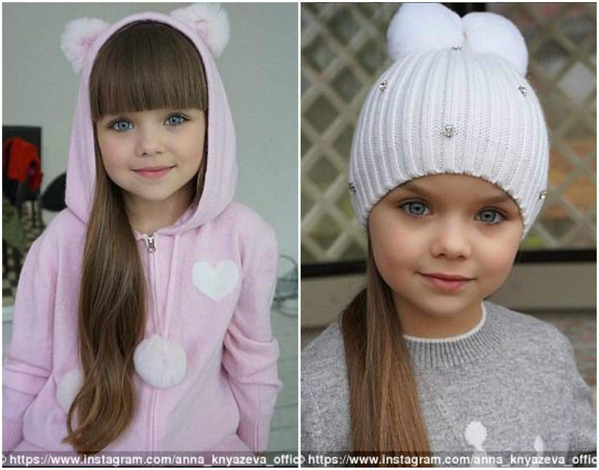 71330bb6209 Η Anastasia Knyazeva είναι ήδη ένα επιτυχημένο παιδικό μοντέλο. Έχει  πρωταγωνιστήσει σε διάφορες επιδείξεις μόδας