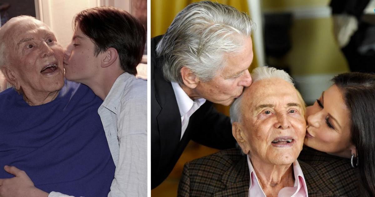 Κερκ Ντάγκλας: Ο θρυλικός «Σπάρτακος» έγινε 101 ετών – «Παππού σε αγαπώ με όλη μου την καρδιά»