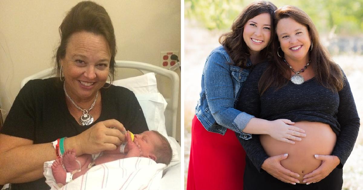 Γιαγιά θα γεννήσει για 2η φορά το εγγόνι της