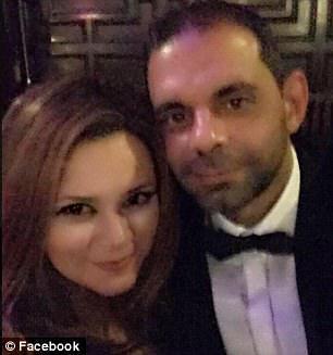 Dr Reeta Herzallah and Hamdi Almasri pictured in an undated image
