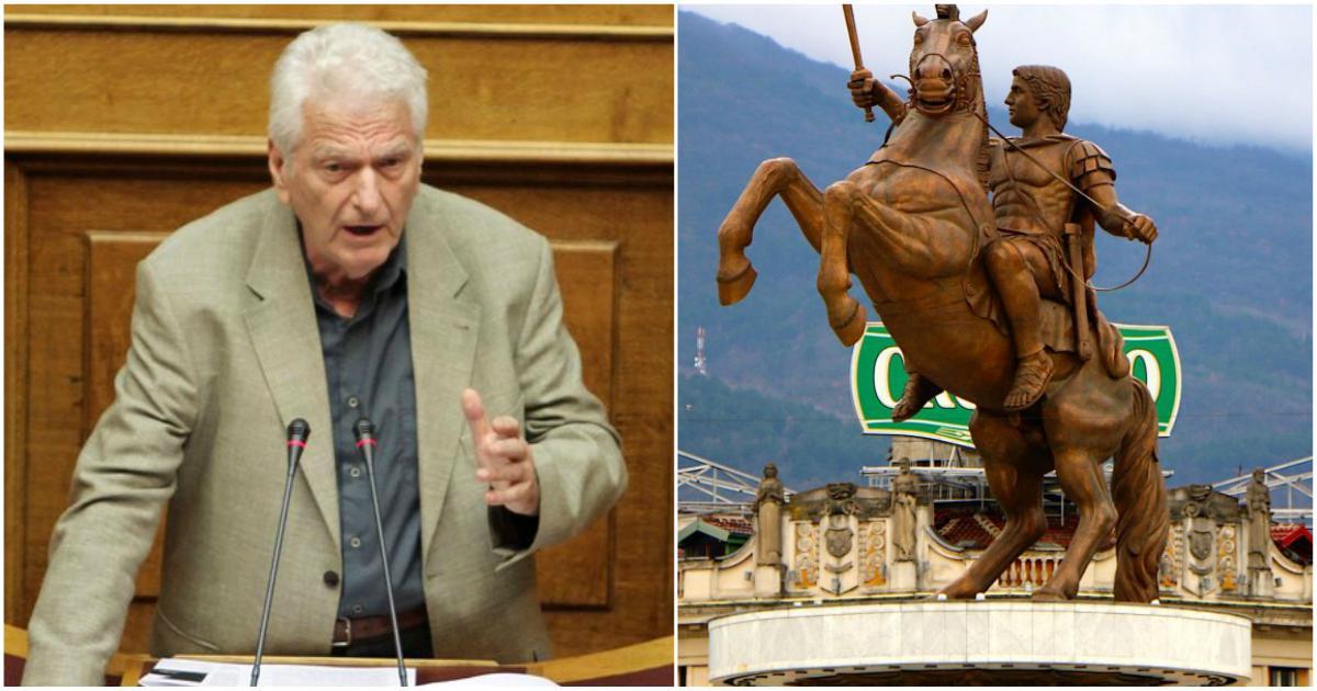 Μηταφίδης: «Δεν υπάρχει κανένας λόγος να αλλάξουν το Σύνταγμά τους οι Σκοπιανοί»