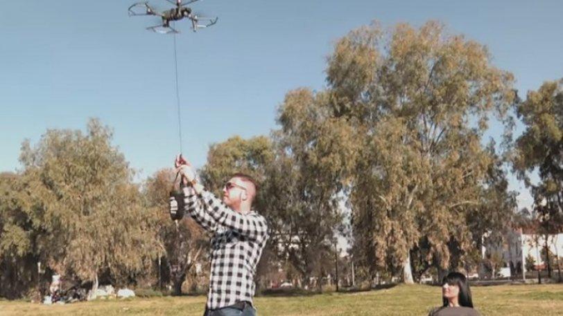 Στην Πάτρα κάνουν delivery με... drone! (vid)