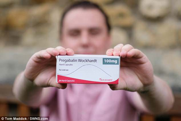 The pills Mr Purdy was prescribed, Pregabalin, which he claims have made him gay