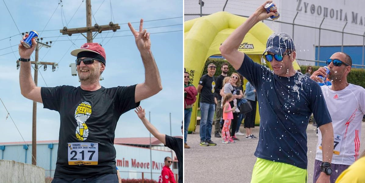 Ο πρώτος μαραθώνιος μπύρας στην Ελλάδα ολοκληρώθηκε με απόλυτη επιτυχία