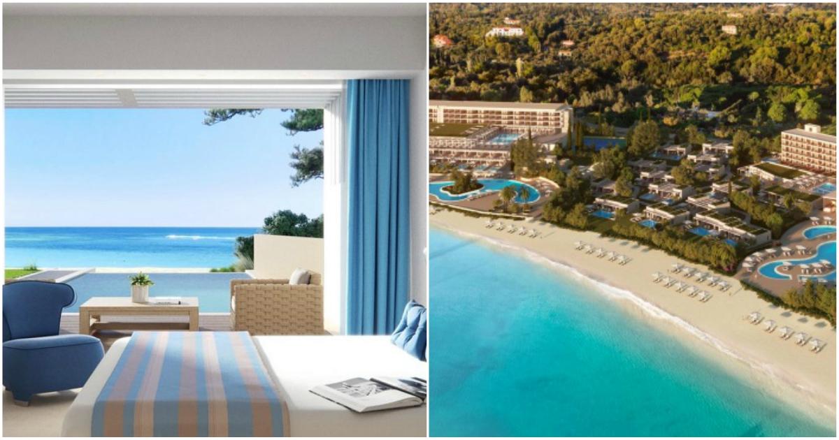 Κέρκυρα: Ξενοδοχείο όνειρο κόστισε 100 εκατ. ευρώ και θα απασχολεί 700 υπαλλήλους
