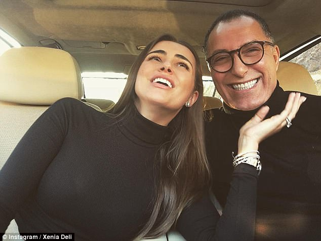 Deli and Mr Rabah began dating in late 2015, making their courtship a whirlwind with their wedding barely six months later