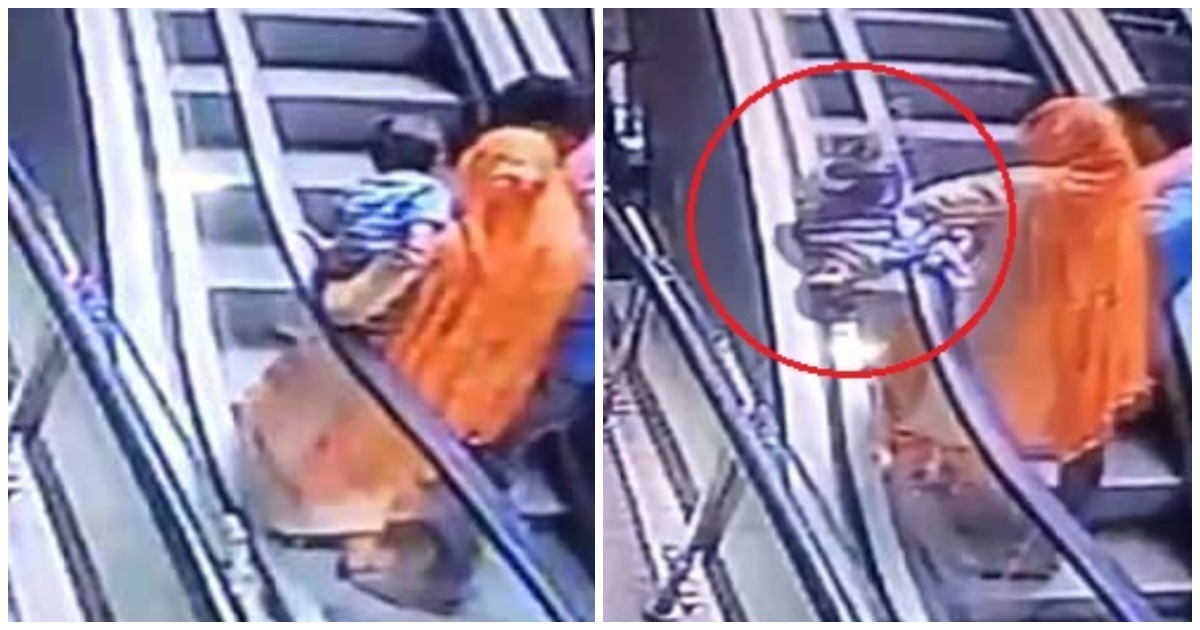 5289d56fa23 Ένα κορίτσι ηλικίας 10 μηνών πέθανε αφού έπεσε από τα χέρια της μητέρας του  στην κυλιόμενη σκάλα ενός εμπορικού κέντρου την ώρα που τραβούσε μία σέλφι  με το ...