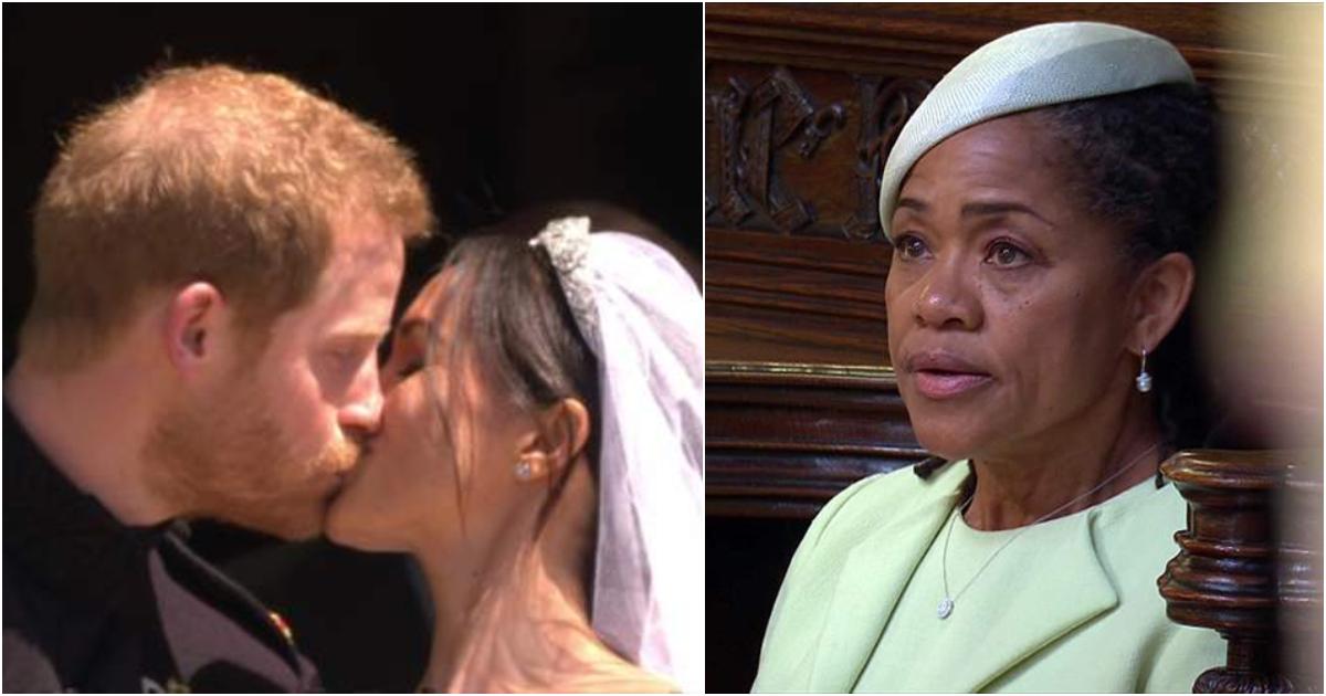 «Το κορίτσι μου είναι μια πριγκίπισσα» – Πέντε στιγμές που δάκρυσε η μητέρα της νύφης Μέγκαν