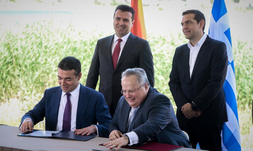 Πρέσπες - Σκοπιανό - Συμφωνία - πΓΔΜ - Ελλάδα