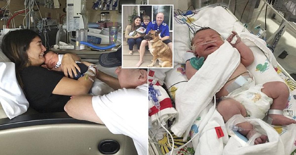 newborn sons emergency video - 636×382