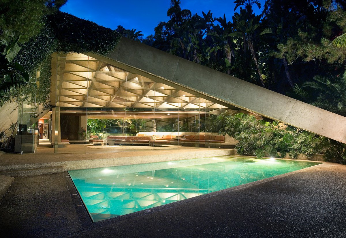 The Sheats Goldstein residence in Los Angeles, California.