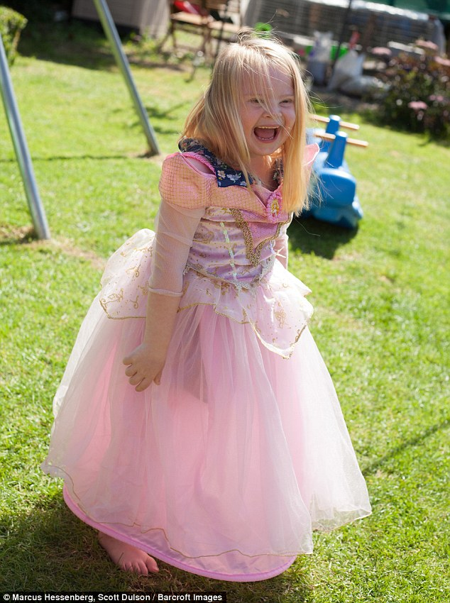 Cherly has hopes Grace will be able toraise awareness for other families who have been affected by Down Syndrome