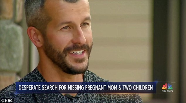Hours before his arrest, Chris appeared on NBC's Today show where he said he had 'like no idea' where the family went