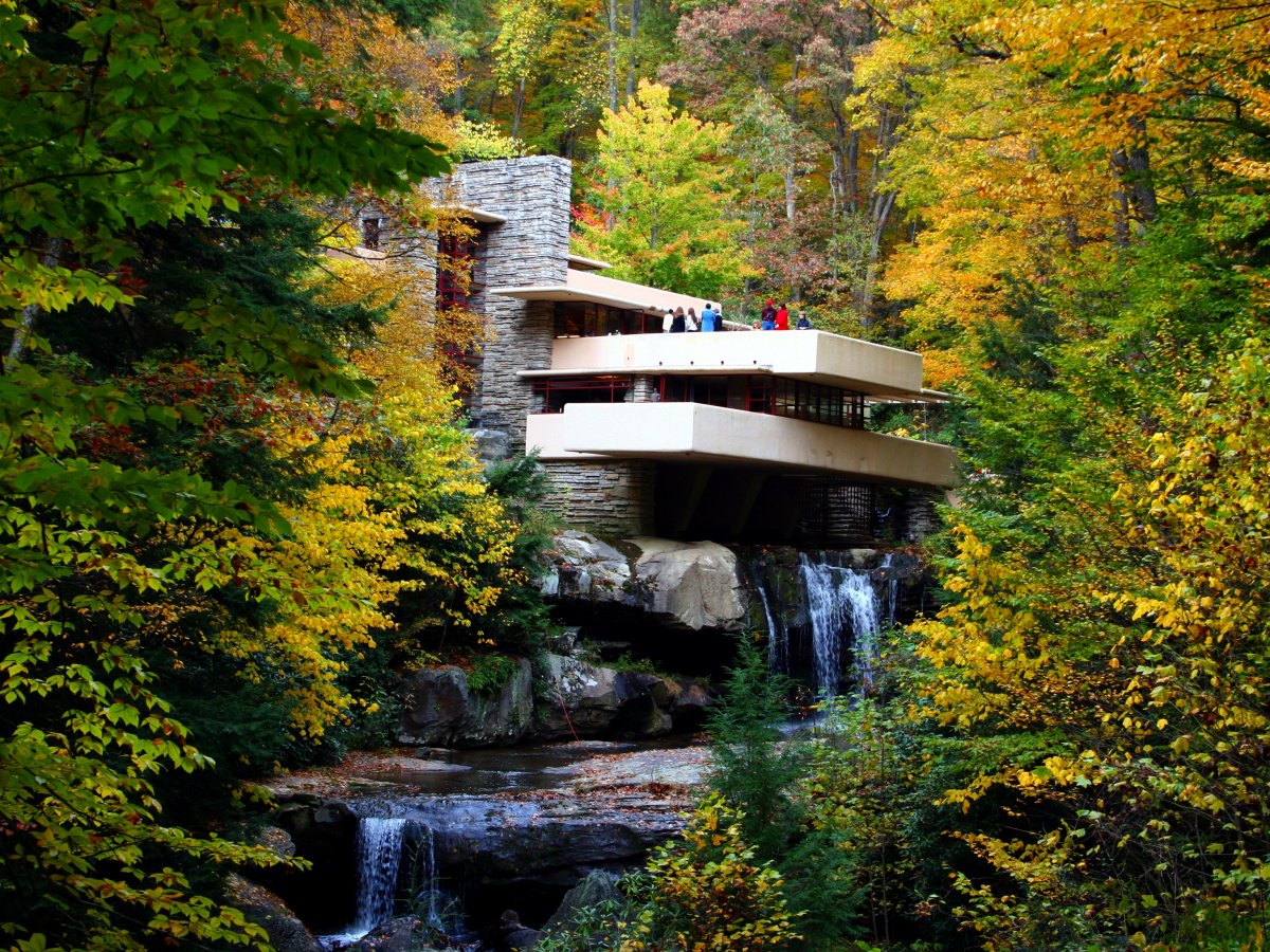 Fallingwater in Mill Run, Pennsylvania.