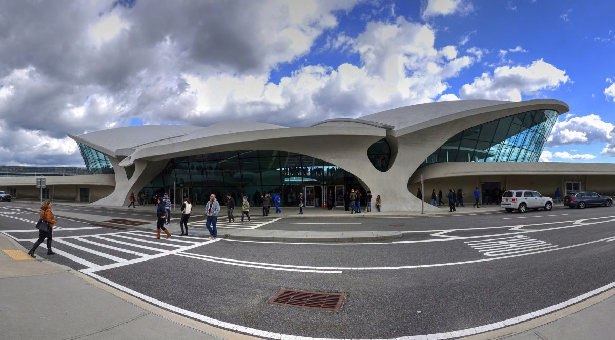 The TWA Flight Center at JFK Airport in Jamaica, New York.