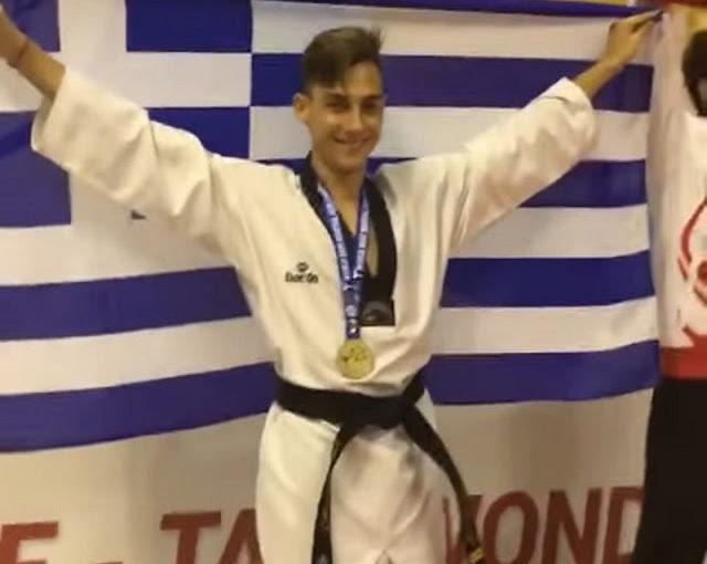 Ο εθνικός ύμνος ακούστηκε μέσα στην Τουρκία – Χρυσός ο Παύλος Λιότσιος στο Παγκόσμιο Πρωτάθλημα Τάε Κβον Ντο κωφών
