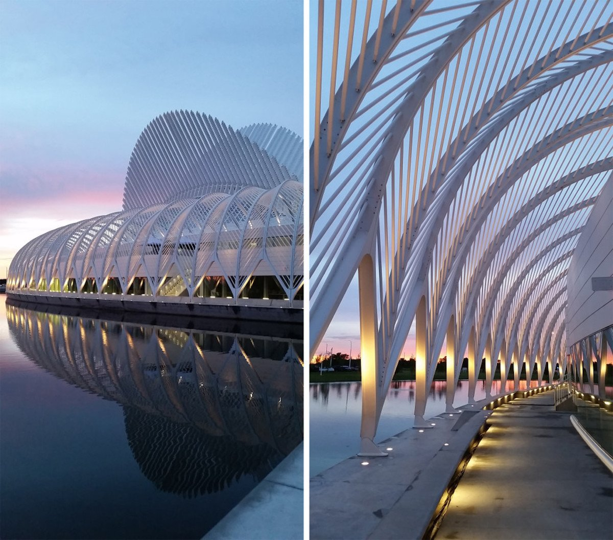 The Innovation, Science, and Technology building at Florida Polytechnic University in Lakeland.