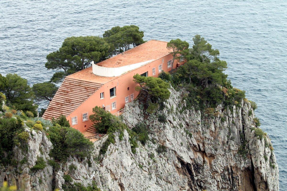 Casa Malaparte in Capri, Italy.