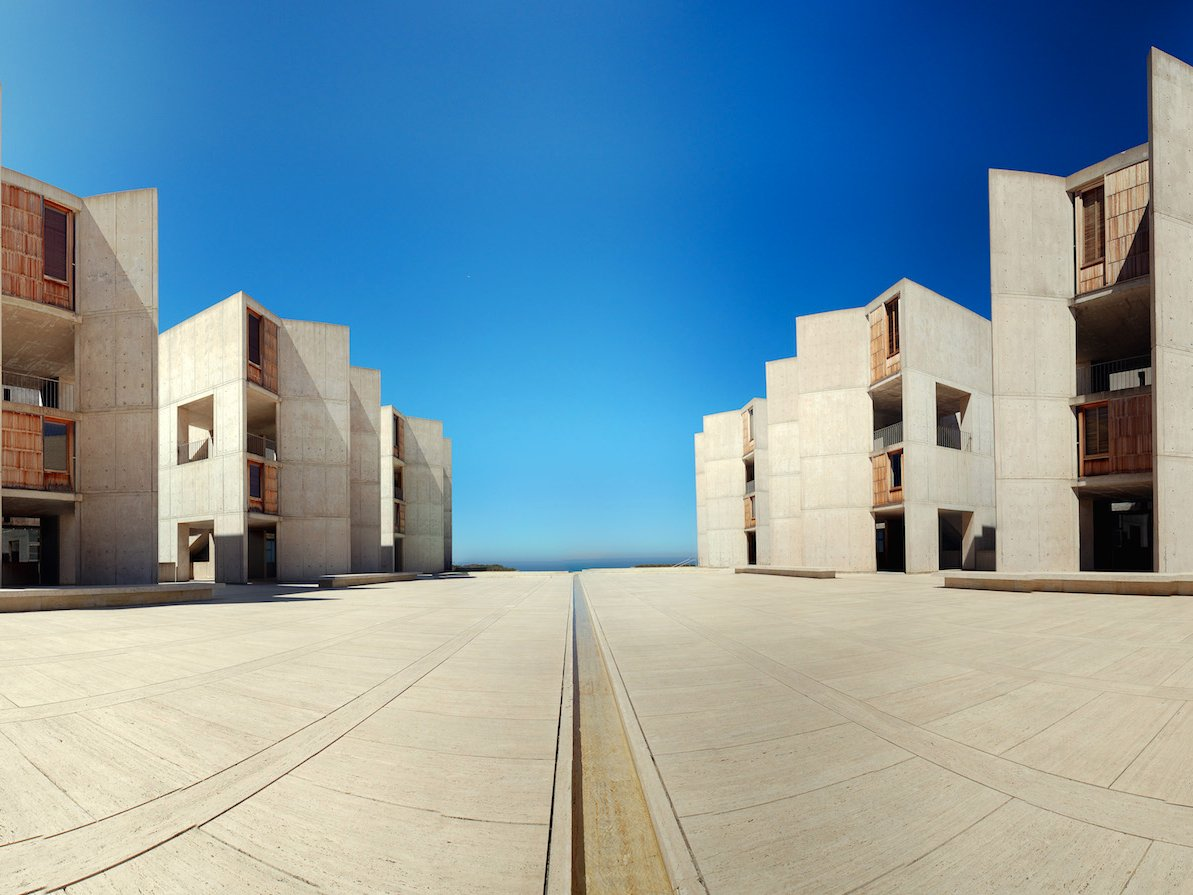 The Salk Institute for Biological Studies in La Jolla, California.