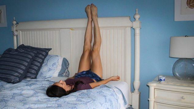 Κρατάω τα πόδια μου ψηλά για 15 λεπτά κάθε μέρα και να τι συμβαίνει στο σώμα μου