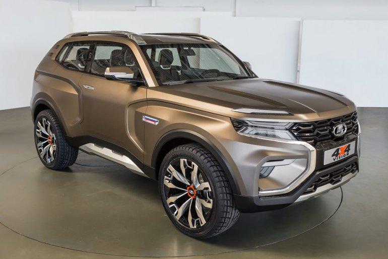 H Lada παρουσίασε νέο τετρακίνητο αυτοκίνητο και έκλεψε την παράσταση
