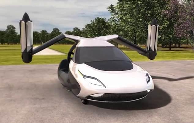 Η μετάβαση στο έδαφος. Το πρώτο από τα υβριδικά-ηλεκτρικά οχήματα δύο θέσεων, τα οποία μπορούν να αλλάξουν μεταξύ τρόπων οδήγησης και πτήσης σε λιγότερο από ένα λεπτό, θα παραδοθεί το επόμενο έτος