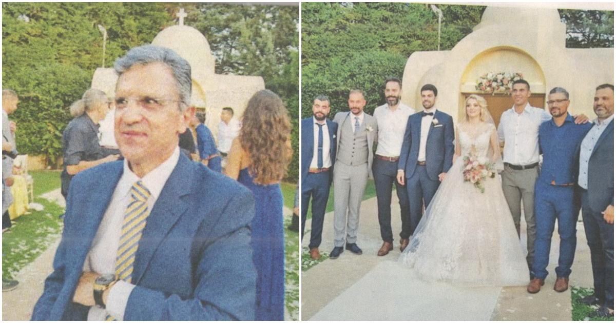 Ο Γιώργος Αυτιάς πάντρεψε την μοναχοκόρη του και είναι ένας τρισευτυχισμένος πατέρας