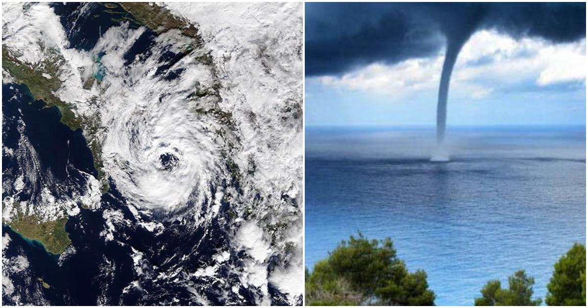 Σήμερα το απόγευμα «χτυπάει» ο μεσογειακός κυκλώνας «Ζορμπάς» την Ελλάδα